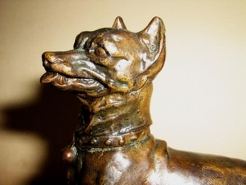 Pierre-Jules MÈNE - Escultura - Terrier àla balle
