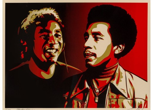 Shepard FAIREY - Druckgrafik-Multiple - Smokey Robinson Era Print