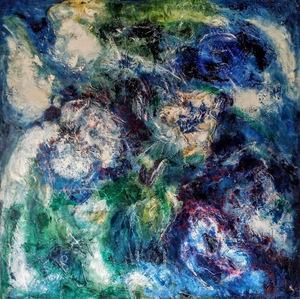 Theodora BERNARDINI - Painting - Valse de la Sérénade