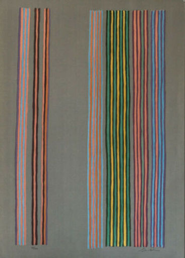 Gene DAVIS - Print-Multiple - Royal Curtain