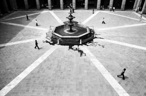 Robbert Frank HAGENS - Photography - Directions - National Palace Mexico City 1978