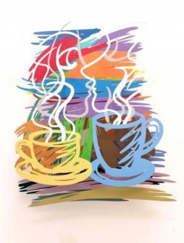 David GERSTEIN - Sculpture-Volume -  COFFEE & TEA