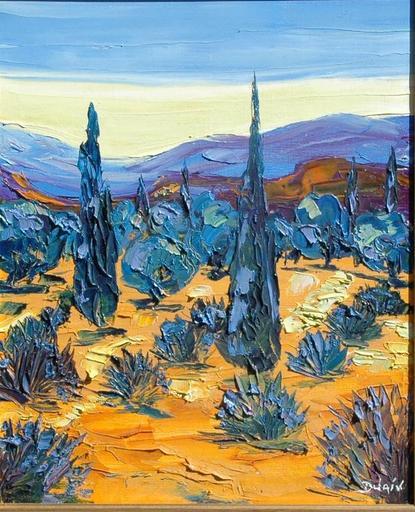 DUAIV - Peinture - bleu du soir