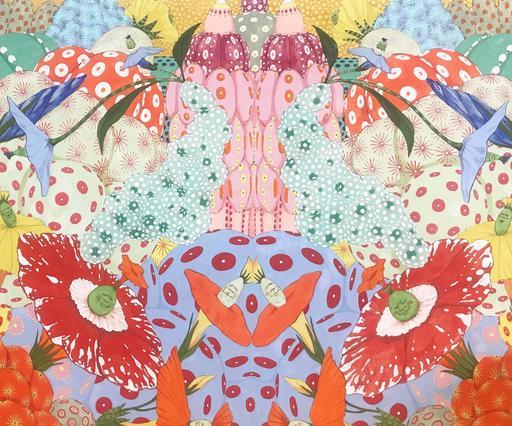 Mari ITO - 绘画 - Origen del deseo - Ritmo de nacimiento de Alegría