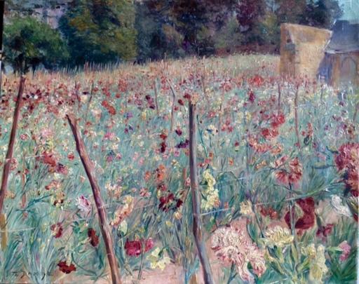 Pierre Emmanuel DAMOYE - Gemälde - Wiesenblumenfeld