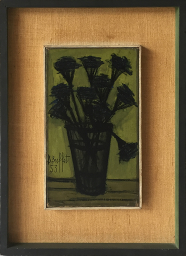 Bernard BUFFET - Pintura - Still Life of Flowers