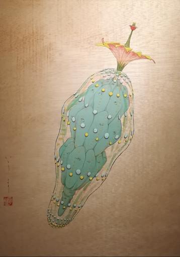 Mari ITO - 绘画 - Origen del deseo - Quiero ver