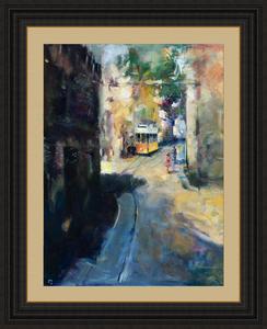 Levan URUSHADZE - Gemälde - Lisbon. Calcade de Sao Vicente