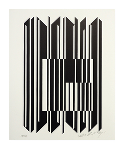 Victor VASARELY - Print-Multiple - Leyre II
