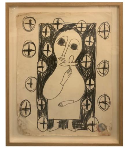 Albert CHUBAC - Disegno Acquarello - 245 Z