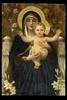 William Adolphe BOUGUEREAU - Peinture - vierge aux lys