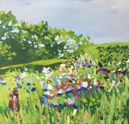 Delphine LACROIX - Peinture - Montée d'Iris