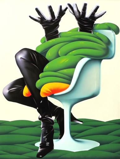 Umberto MARIANI - Peinture - L'etonnementde madame Tulip