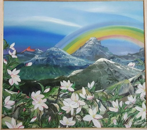 Svitlana SEMANIV - Gemälde - Tropical freshness
