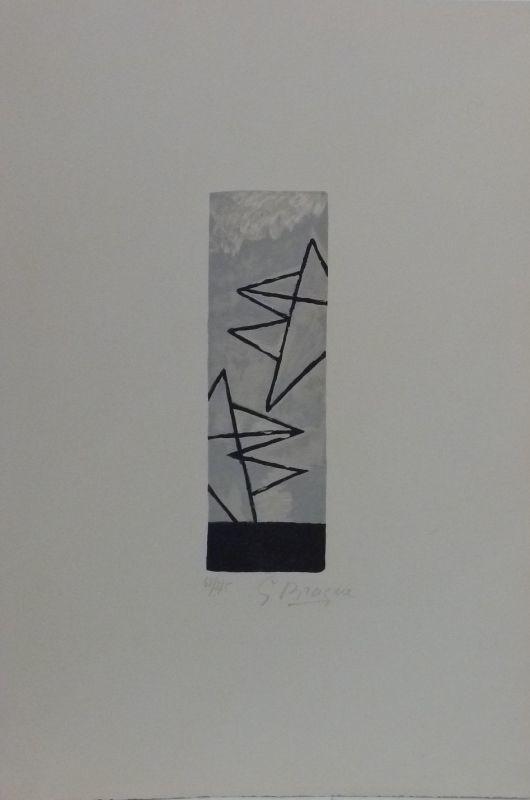 """Georges BRAQUE - Print-Multiple - """"Ciel Gris I"""""""