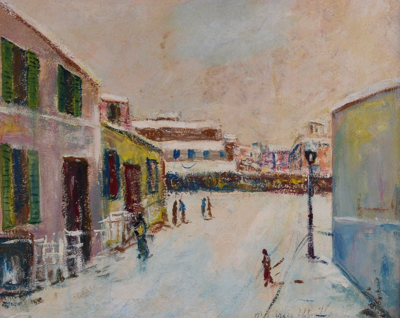 Maurice UTRILLO - Painting - Sin titulo