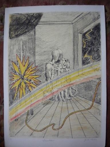 Giorgio DE CHIRICO - Stampa Multiplo - L' arcobaleno