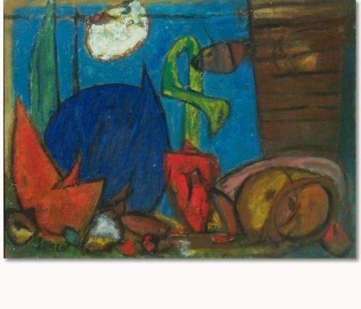 Marcel JANCO - 绘画 - Still life