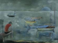 Kaete Ephraim MARCUS - Pittura - By the Lake of Galilee