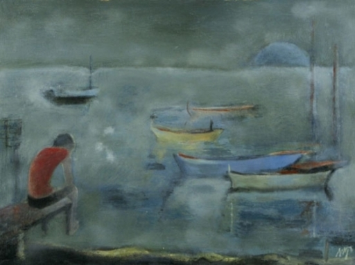 Kaete Ephraim MARCUS - Painting - By the Lake of Galilee