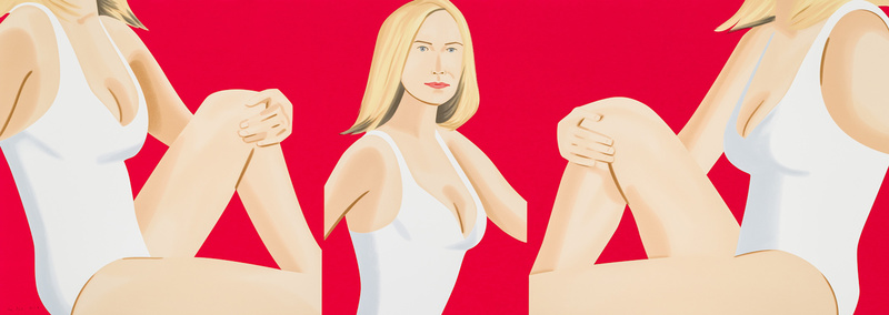Alex KATZ - Estampe-Multiple - Coca Cola Girl 9 (Portfolio of 9)