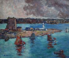 André WILDER - Pintura - Camaret