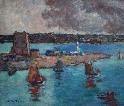 André WILDER - Painting - Camaret
