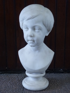 Paul GAYRARD - Sculpture-Volume - Buste de Petit Garçon