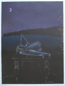 Paul WUNDERLICH - Grabado - Twilight 7