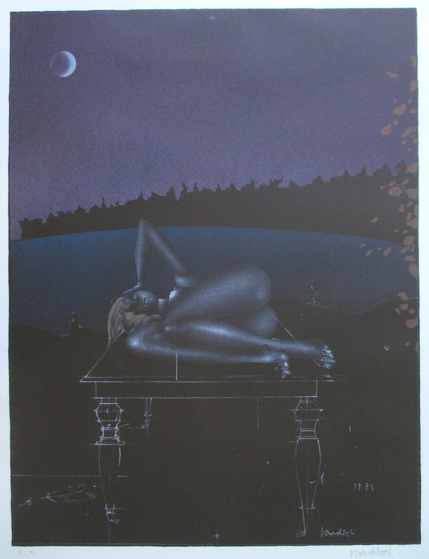 Paul WUNDERLICH - Estampe-Multiple - Twilight 7