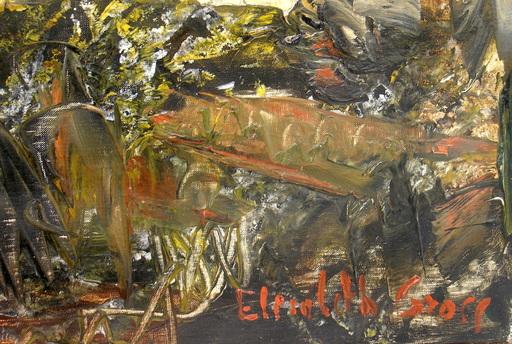 Elisabeth GROSS - Gemälde - Paysage  de Provence