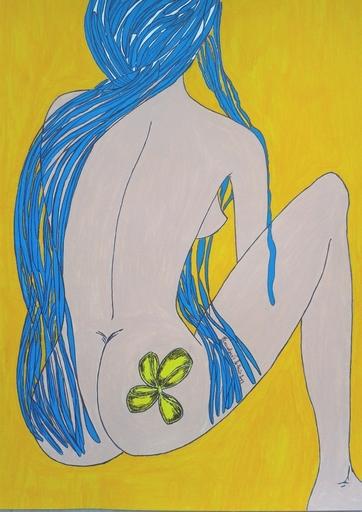 Isabelle HUE - Dessin-Aquarelle - LE CIEL EST BLEU