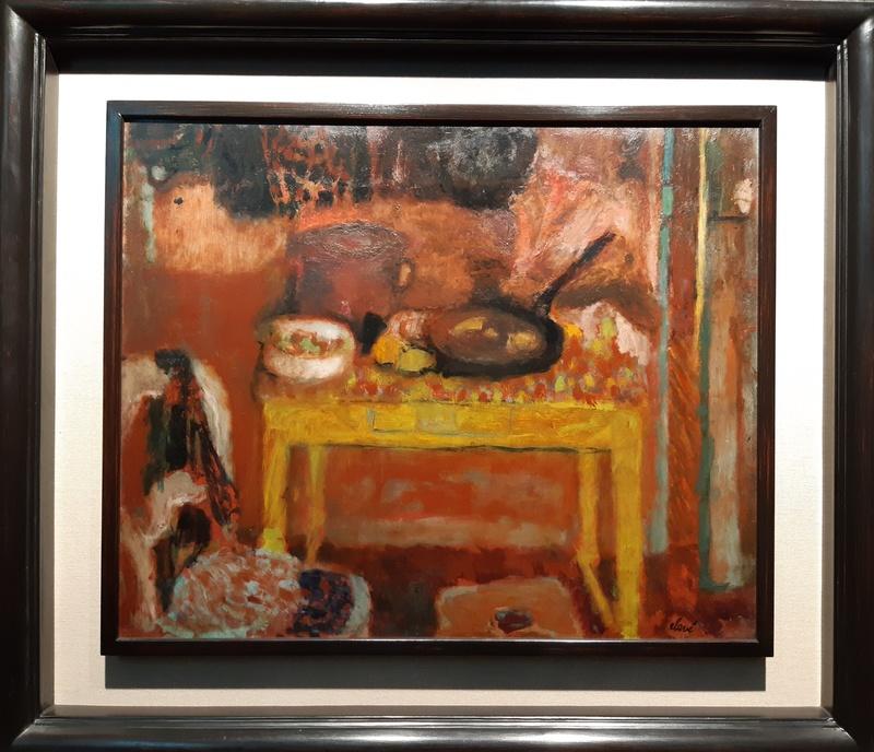 Antoni CLAVÉ - Painting - Cusine a la table jaune