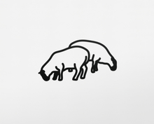 Julian OPIE - Escultura - Sheep 1, from Nature 1 Series