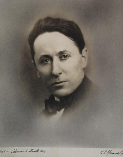 Gaston Lucien MANUEL - Fotografia - Roland DORGELES - Ecrivain - (1885 - 1973)