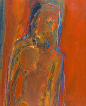 Douglas THOMSON - Pintura - Red Figure
