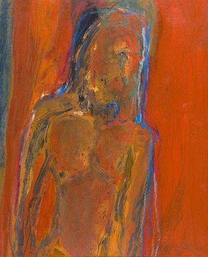Douglas THOMSON - Pittura - Red Figure
