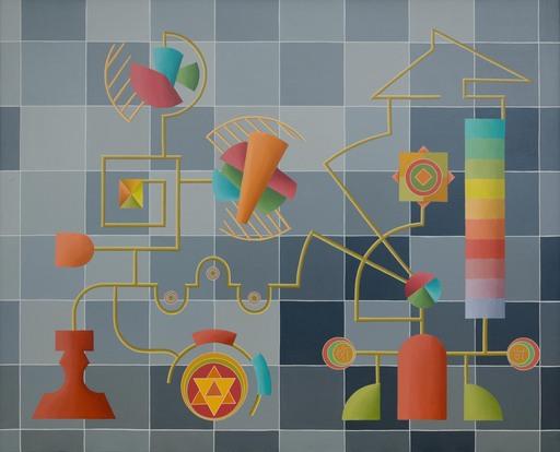 Enrique Rodriguez GUZPENA - Pintura - Aquel clamor sin ruido
