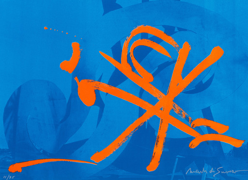 DI SUVERO Mark - Estampe-Multiple - Untitled (lithograph)