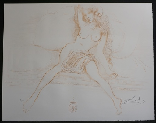 萨尔瓦多·达利 - 版画 - Nudes Young Woman Arising