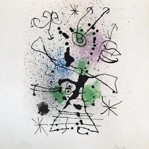Joan MIRO - Print-Multiple - La Cazadora