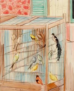 Raoul DUFY - Gemälde - La cage