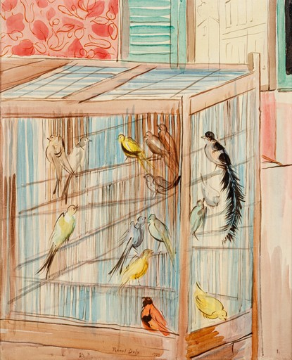 Raoul DUFY - Painting - La cage