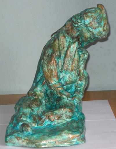 ATCHAMA - Sculpture-Volume - le pauvre