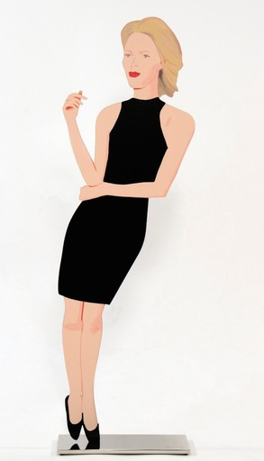 Alex KATZ - Sculpture-Volume - Ruth from Black Dress