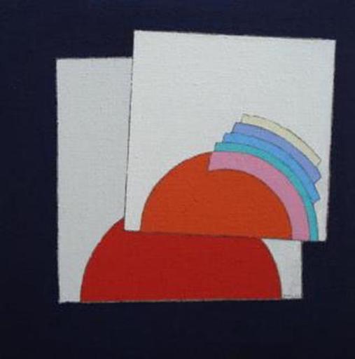 Eugenio CARMI - Painting - Il conflitto
