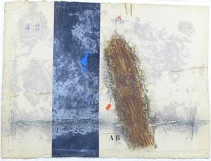 James COIGNARD - Estampe-Multiple - Dynamique en brun,