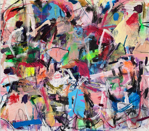 Yevgen LISNIAK - 绘画 - Untitled 6 (Abstract painting)
