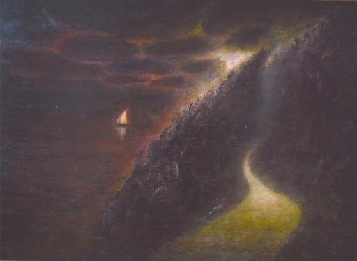 Richard CARTWRIGHT - Painting - Poet's Walk