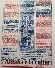 Massimo PETRUCCI - Print-Multiple - L'Alitalia e la Cultura